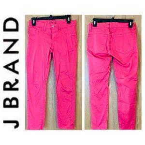 J Brand Hot Pink Capri Jeans. Size 27